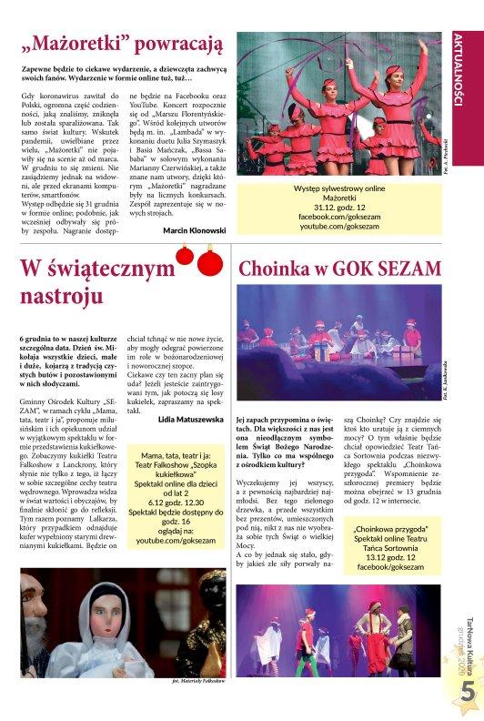 TarNowa Kultura 12/2020 strona 5