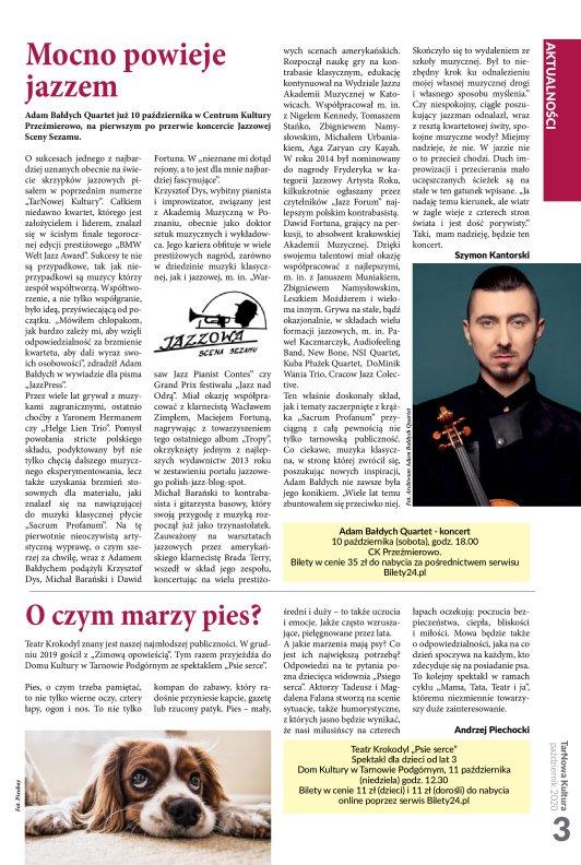TarNowa Kultura 10/2020 strona 3