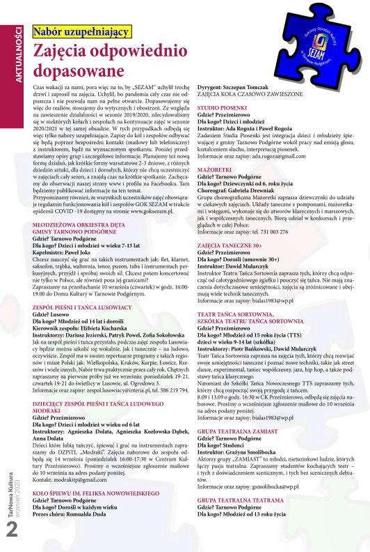 TarNowa Kultura 09/2020 strona 2