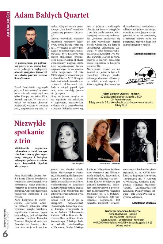 TarNowa Kultura 09/2020 strona 6