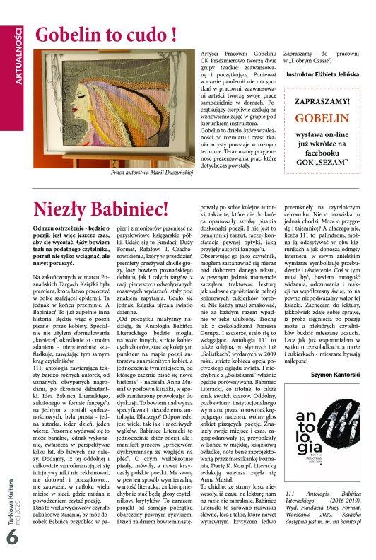 TarNowa Kultura 5/2020 strona 6