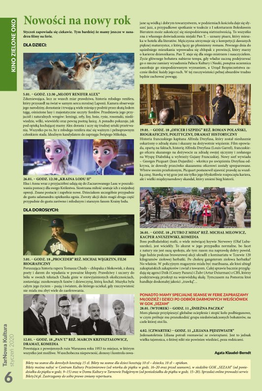 TarNowa Kultura 1/2020 strona 6