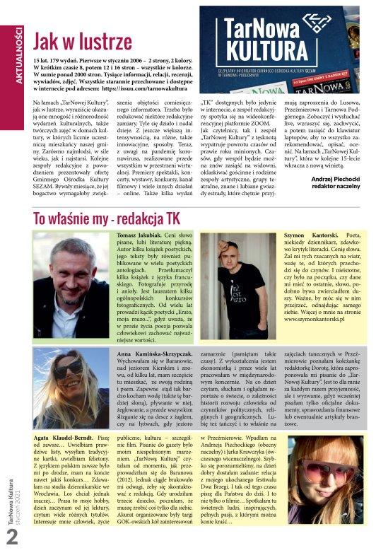 TarNowa Kultura 1/2021 strona 2