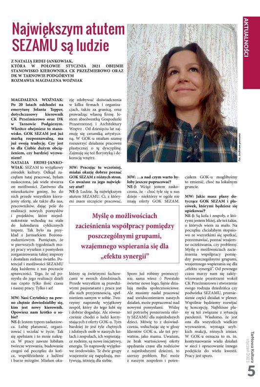 TarNowa Kultura 1/2021 strona 5