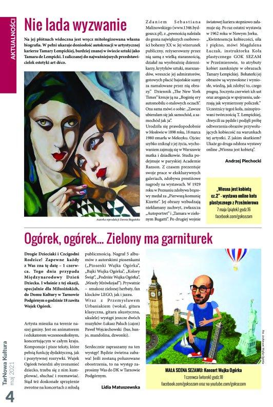 TarNowa Kultura 5/2021 strona 4